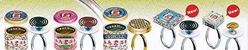 アートユニブテクニカラー 缶詰リングコレクション 金鳥の渦巻 蚊取り線香ペアリング編1.5 [全5種セット(フルコンプ)] ガチャガチャ カプセルトイ