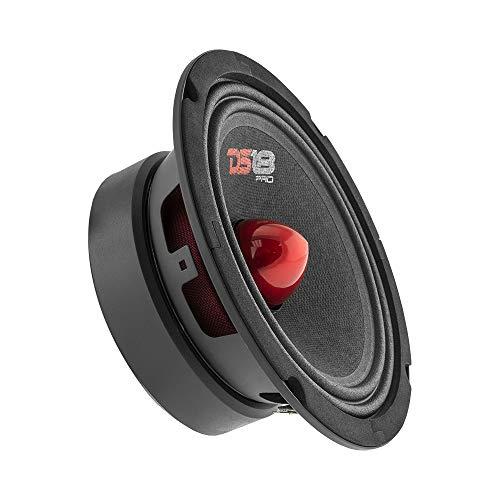 ALTAVOZ - DS18 PRO-GM6B - 6.5 ', rango medio, bala de aluminio rojo, 480W MAX, 140W RMS, 8 ohmios - Altavoces de puerta de audio de...