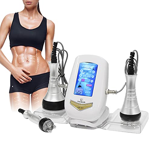 Beauty Massage Tools, FAZJEUNE Multifunctional Body Facial Beauty Machine Skin Rejuvenation Home Use Spa Skin Care Tool Face Neck Arm Waist Thigh and Buttock 3 in 1