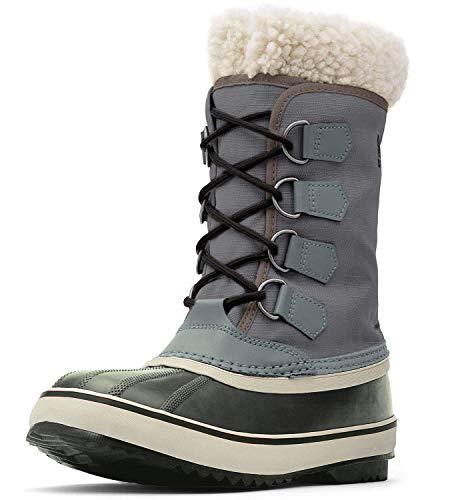 Sorel Women's Winter Carnival Boot,Pewter/Black,10 M US