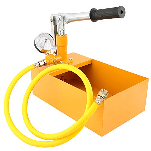 ROEAM Test Pumpe, 2,5 MPa 25 KG Wasserdruck Tester Manuelle Hydraulische Testpumpe Maschine mit G1 / 2