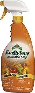 Espoma Organic Earth-Tone Insecticidal Soap - 24 oz Spray IS24,Brown/A