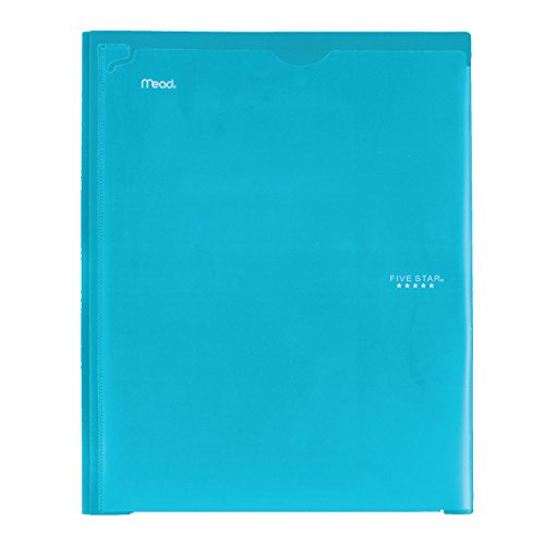 Five Star 2 Pocket Folder with Prong Fasteners, Folder with Pockets, Customizable Cover, Plastic, Color Selected for You, 1 Count (34136) Photo #3