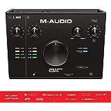 M-Audio USB/USB-C対応 2イン/2アウト オーディオインターフェース:ProTools|First/Ableton Live Lite/Eleven Lite/Avid Effects Collection/AIR Music Tech製エフェクト&ソフト音源付属 AIR 192|4