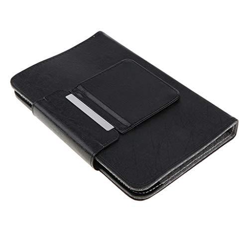 prasku Cubierta de La Caja de La Funda de Las Tabletas del Teclado de Bluetooth con El Teclado de 7/8 Pulgadas