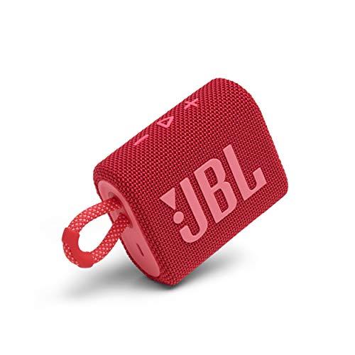 JBL Bocina Portátil GO 3 Bluetooth - Rojo