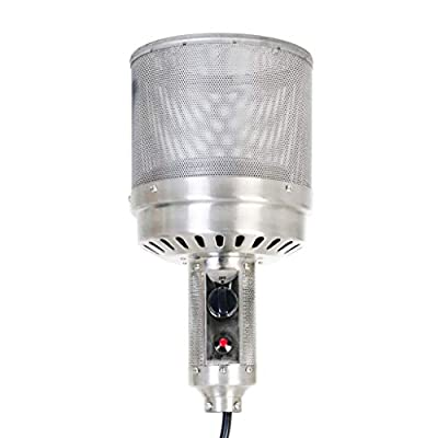 Fire Sense Chrome Finish Commercial Series Patio Heater Head Assembly