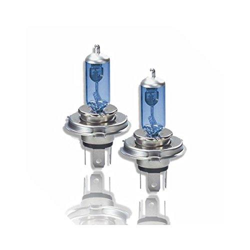 Akhan H4100W - Xenon Look Halogen Lampen Set H4 12V 100W Super White