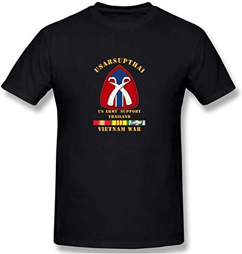 Usarsupthai W Vn SVC linten heren katoen prestaties basic korte mouw T-Shirt