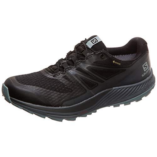 Salomon Damen Trailrunning-Schuhe, SENSE ESCAPE 2 GTX W, Farbe: Schwarz (Black/Ebony/Lead), Größe: 42 2/3