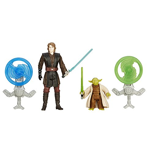 Star Wars Revenge of the Sith 3.75-Inch Figure 2-Pack Forest Mission Anakin Skywalker and Yoda