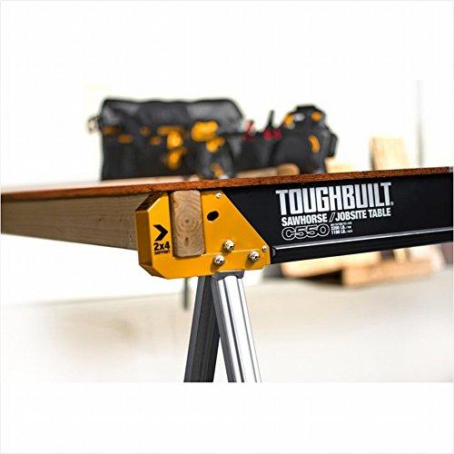 ToughBuilt C550 PAIR, Noir