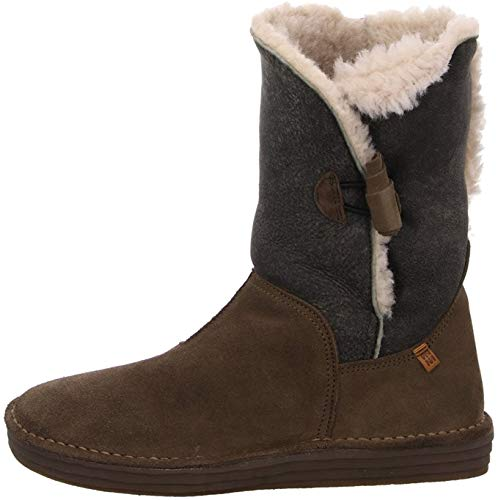N5055 Doble FAZ-Lux Suede Kaki/Rice Field Verde Mujer 36 Botas Button Plus Cord