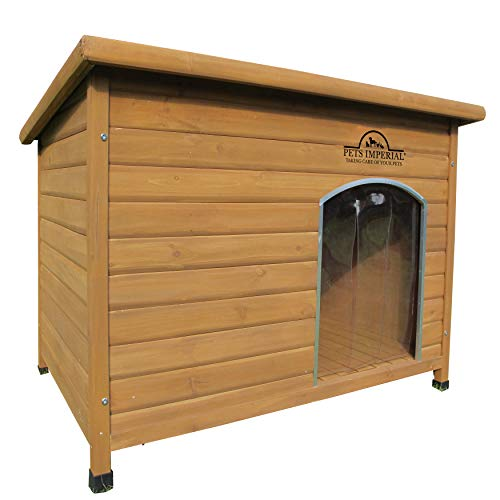 Pets Imperial Extra Large Insulated Wood Norfolk Dog Kennel