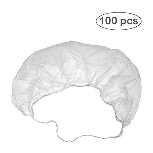 Szseven Einweg-Bartschutz Bartnetze Bartabdeckungen Atmungsaktive Latexfreie Materialien Für Die Aufbewahrung Von 100 Stück