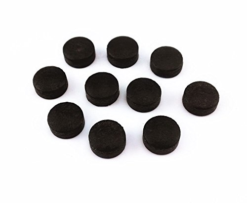 HONBAY 10pcs 13mm Pool Billiard Cue Stick Tips