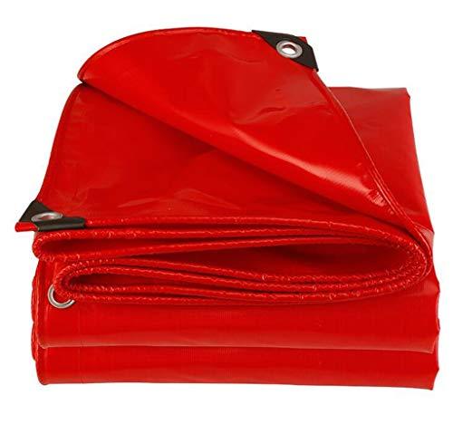 TRNCEE Verdikt (ongeveer 0,45 mm) Waterdicht dekzeil vloerbedekking Camping, Tuinieren Verdikt Regendicht Uv Tarpaulin 3x3m (10ft x 10ft)