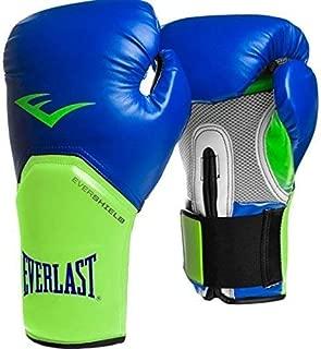 Everlast Pro Style Elite Training Glove, Blue/Green, 10 oz