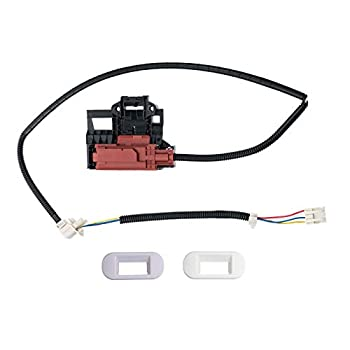 Siwdoy W10404050 Lid Lock Latch Switch Compatible with Whirlpool Washing Machine W10238287 AP5263307 PS3497627