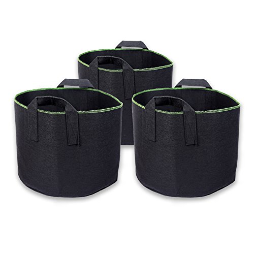 Schramm® 3 pcs. Sacs de Plantation en Non-tissé de 60 litres Hauteur 40,5 cm Sac de Plantation Sac de