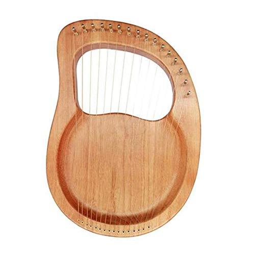 ACAMPTAR Sechzehnsaitige Harfe, 16 Saitiges Klavier Klavier Stahldraht Saite Holz KKRper Holzfurnier Top Saiten Instrument