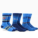 NBA Pkwy Oklahoma City Thunder Team Crew 3pk, Large