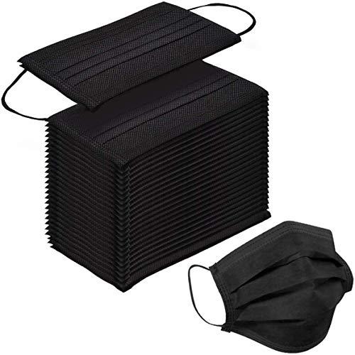 Calculatrice - 100 mascarillas respetuosas con la piel, protectoras, recomendadas para hombre...