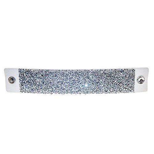 Pulsera Crystal Rocks Blanco con Swarovski® Cristales cm de Roc de BLA de cal