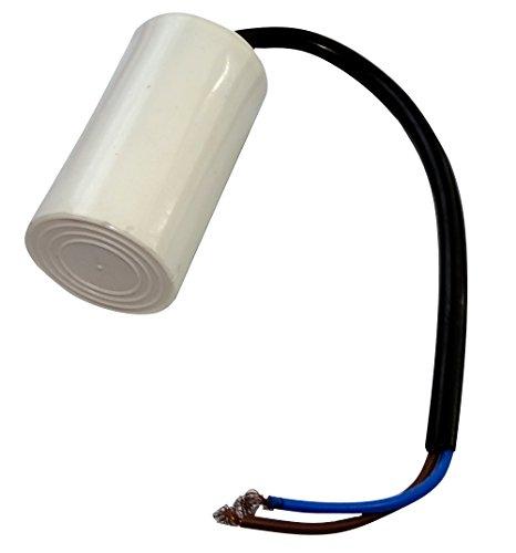 AERZETIX: Condensador permanente para trabajo del motor 6µF 450V precableado Ø35x60mm ±5% 3000h C18628