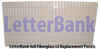 4x8 Readerboard Marquee Sign Face Panels With Tracks