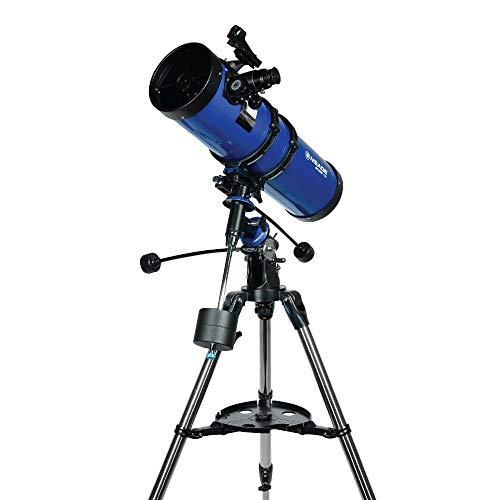 Meade Instruments Polaris 216008 - Telescopio, Reflector Azul, 130mm M