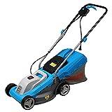 Lawnmower Cortacésped eléctrico Manual LS, cortacésped doméstico enchufable pequeño, cortacésped multifunción, Corte de césped de jardín, Alta Potencia de 1300 W
