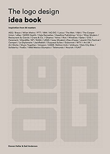 The LOGO Design Idea Book: (Logo Beginners Guide, LOGO Design Basics, Visual Branding Book)