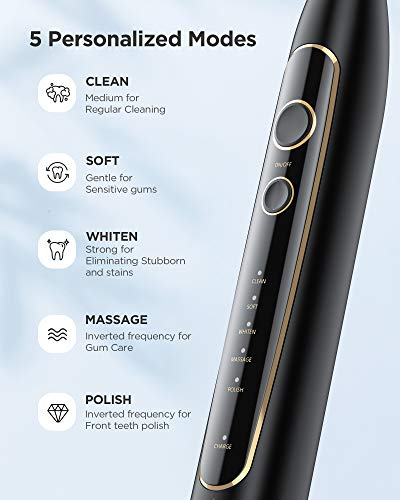 Fairywill PRO Electric Toothbrush Ultra Sonic