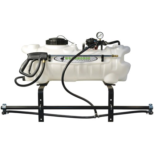 Green Leaf 15 Gallon ATV Sprayer with Wand, Boom with 2 Nozzles and 2.2 GPM Pump (Freight ONLY)