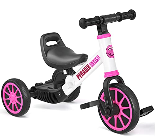 Peradix 3 in 1 Toddler Tricycles for 1-3 Year...