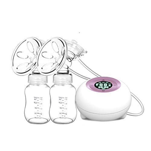 Buy Bargain JINGJING Electric Breast Pump Double/Single Port USB Rechargeable Breast Pump 3 Modes (6...