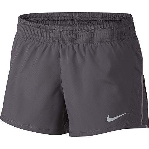 Nike Women's 10K Running Shorts, Gunsmoke/Atmosphere Grey/Wolf Grey, X-Large