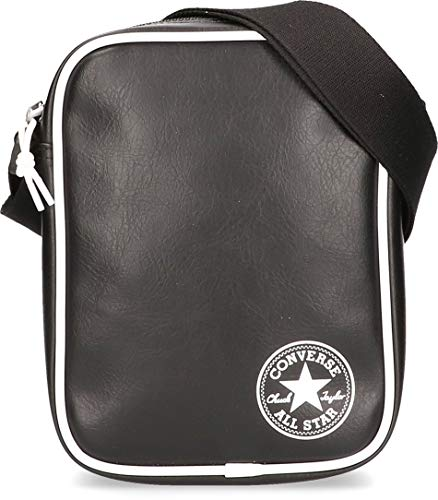 Converse Future Retro Cross Body Bag, RIÑONERA Unisex Adulto, Black, 4L