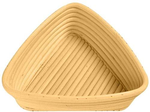 suudada Cesta De Mimbre De Fermentación De Masa Triangular Canasta De Pan A Prueba De Fermentación Canasta De Mimbre De Pan-Los 20X20X6Cm