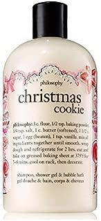 Philosophy Christmas Cookie Shampoo, Shower Gel & Bubble Bath,16 Fl Oz