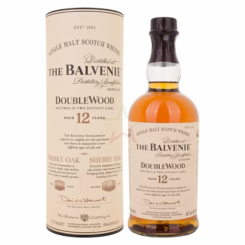 The Balvenie 12 Years Old Double Wood 40,00% 0,70 Liter