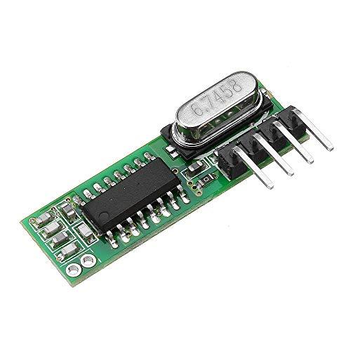 U – RX470 433 MHz RF Superhenrodyne ontvanger draadloze afstandsbediening module Poser/OK voor Smart Home zender