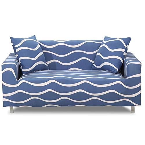 VanderHOME Funda de sofá, Funda para sofá de Tela súper elástica, Protector Sofá Ajustables Estampado,Protector Cubierta de Muebles, sofá Suaves duraderas,para Pelo de Mascotas/Manchas/Suciedad