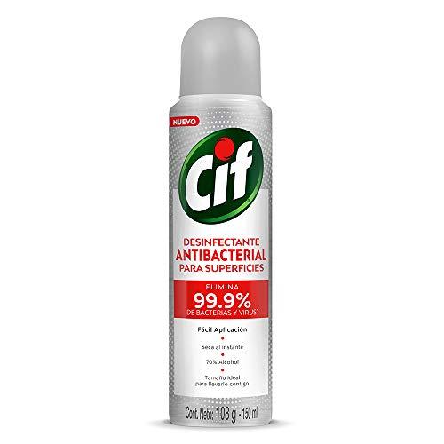 Aerosol Desinfectante marca Cif
