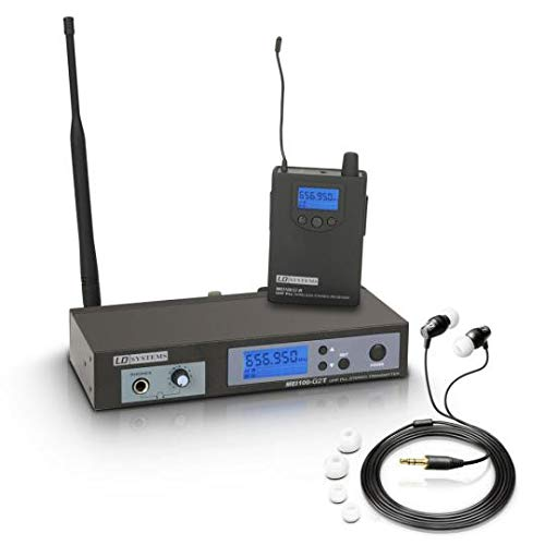 LD Systems MEI 100 G2 B 6 In-Ear Monitoring System drahtlos