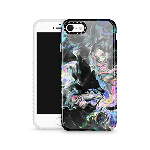 iPhone 8 & iPhone 7 & iPhone SE 2020 Case Watercolor, Akna Cat Series High Impact Silicon Cover with Ultra Full HD Graphics for iPhone 8 & iPhone 7 & iPhone SE 2020 (Design 102354-US)