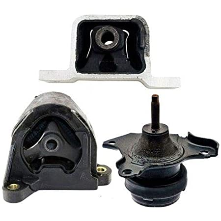 Motor /& Trans Mount 4PCS Set Fit 03-11 Honda Element 2.4L Auto Trans w// Bracket