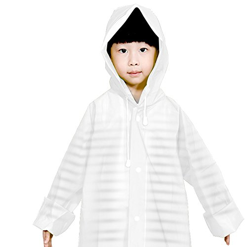 Zhihui poncho ZZHF Yuyi Impermeabile Moda Impermeabile Lungo Poncho Trasparente Impermeabile da Viaggio per Bambini Impermeabile per Bambini 3 Colori Dimensioni opzionali Opzionale