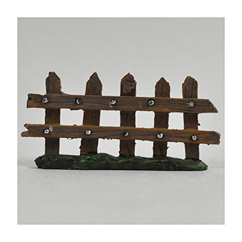 10 cm langer Mini-Gartenzaun zur Dekoration von Heim und Garten. Tolle Geschenkidee für Fans von Hobbits und Elfen-